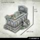 Tombes, Tombeaux et Cercueils 28-32mm (x5)