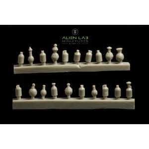 Flacons et Fioles 28-32mm (x20) N°2