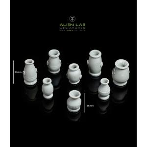 Vases (x8)