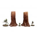 Set de 2 grands arbres N°2
