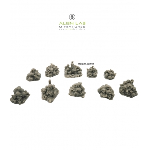 Piles d'ossements 28-32mm (x10)