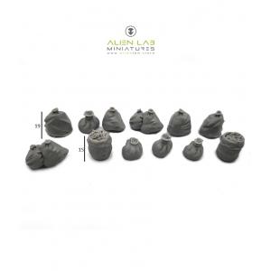 Sacs poubelles Echelle 28-32mm (x13)