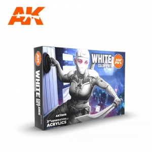 Set Blanc (WHITE COLORS SET, 6*17mL)