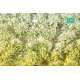 Touffes de fleurs hautes jaunes et blanches MINISOCLES