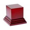 Socle carré grand modèle Acajou