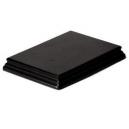 Socle Rectangulaire 19cm Très Grand Modèle Noir