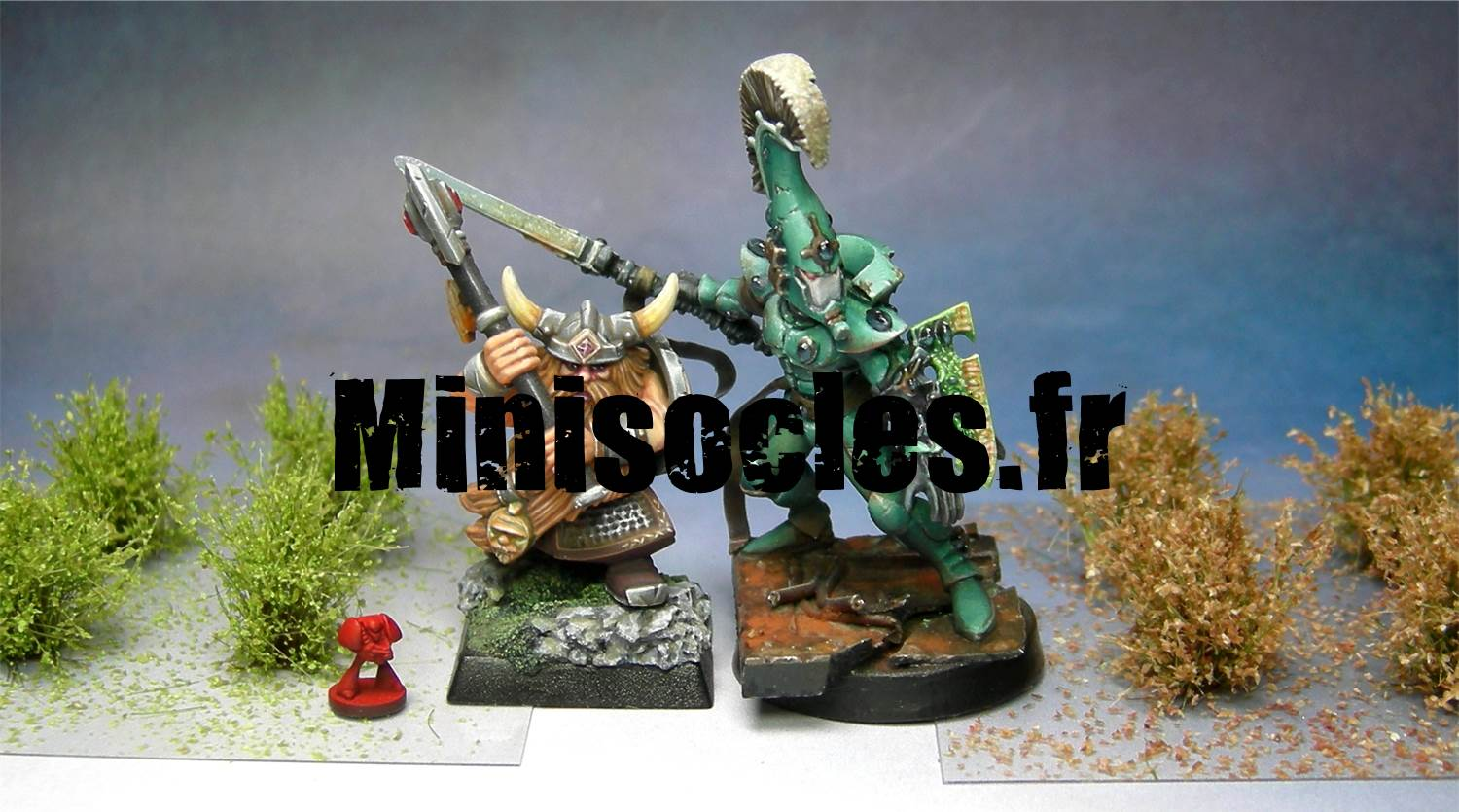 arbustes socles figurines MINISOCLES