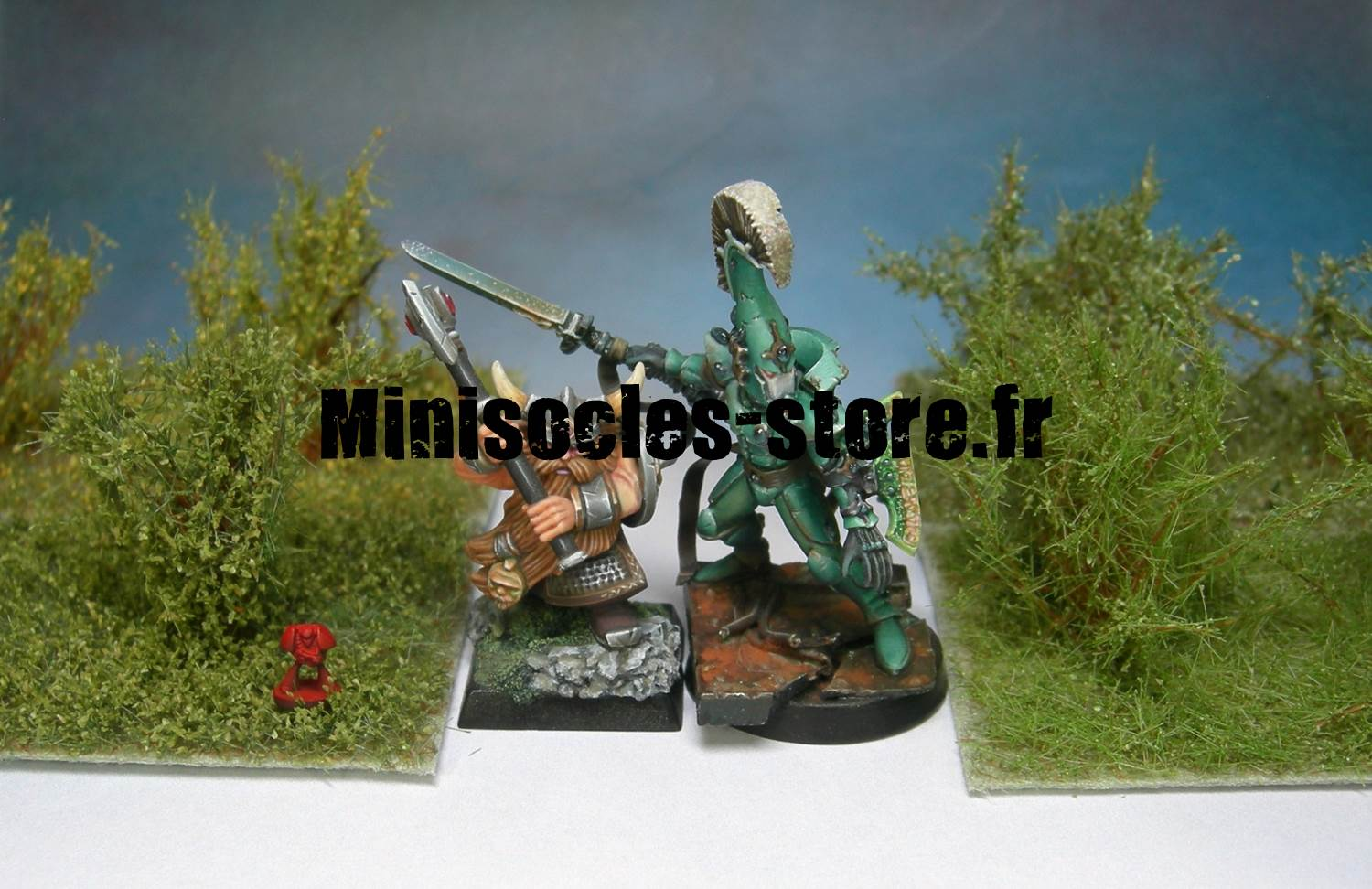arbustes miniatures figurines MINISOCLES