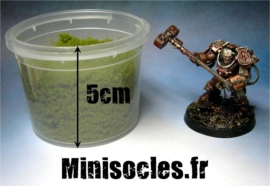 Flocages mousse MINISOCLES