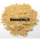 Pigments figurine MINISOCLES Ocre Jaune Clair *
