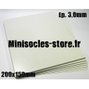 Carte plastique 200x150x3.0