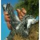 Set d'animaux européens (x9) Echelle 54mm