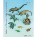 Set de reptiles (x8) Echelle 54mm
