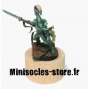 Socle cylindrique 38 mm bas