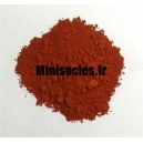 Pigments figurines Ocre rouge*