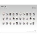 Crânes humains 28-32mm (x30)