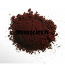 Pigments Figurines Oxyde de Fer brun*