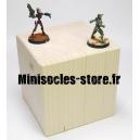 Socle cube - 95mm