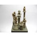 Petites statues (x10)