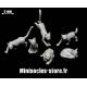 Les chats (Set 1) Echelle 28-32mm
