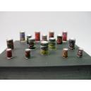 Petites boites de conserve 54mm (x16)