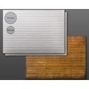 Carte plastique texturée Plancher