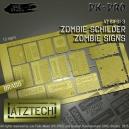 Photo découpe Panneaux Zombies