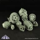 Fragments de robots 28mm