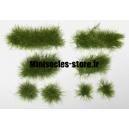 Set de 44 Touffes d'herbe Vert Moyen
