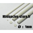 Tige pour rivets 1mm (33cm)