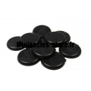 Socles ronds bords arrondis 30 mm pleins (x10)