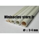 Tube plastique diamètre 5-4mm (33cm)