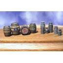 Fûts de bière et Pots à Lait 54mm (x10)