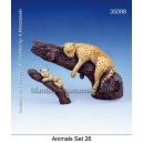 Set de Félins (x2) Echelle 54mm
