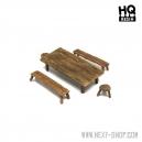 Table et sièges (N°1) 28-32mm