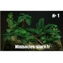 Photo Découpe Plantes Jungke (N°1) 1:35 MINISOCLES