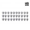 Crânes humains 28-32mm (N°2) (x30)
