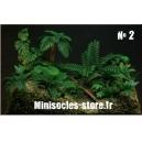 Photo Découpe Plantes Jungke (N°2) 1:35 MINISOCLES