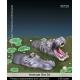 Set d'Hippopotames (x2) Echelle 54mm