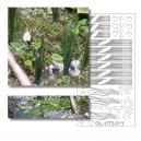 Photo Découpe Plantes Aquatiques 1:72 Assortiment N°1