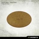 Socle ellipse 105x70 mm plein MDF (x1)