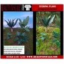 Kit Résine + Photo Découpe Papier Plantes Jungle (N°2) 1:35