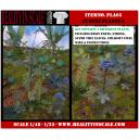Kit Résine + Photo Découpe Plastique Plantes Jungle (N°5) 1:35