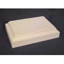 Socle carré plat 130 x 90mm