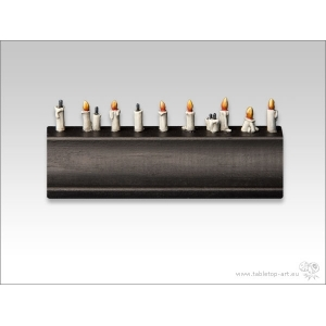 Bougies (N°1) 28-32mm (x18)
