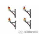 Torches 28-32mm (x4)