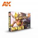 Set NMM Or (NON METALLIC METAL GOLD SET, 6*17mL)
