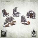 Cité en ruines 28-32mm