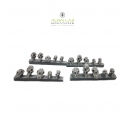 Crânes de bêtes / monstres 28-32mm (x20)