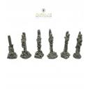 Squelettes sur piliers 28-32mm (x6)
